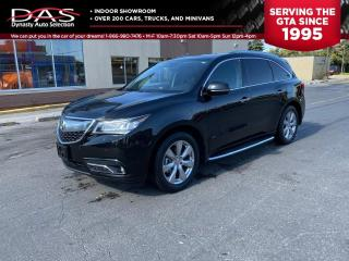 Used 2016 Acura MDX ELITE PKG NAVIGATION/DVD/LANE DEPARTURE/7 PASS for sale in North York, ON