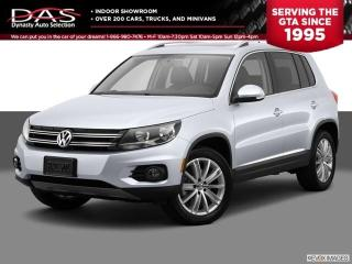 Used 2014 Volkswagen Tiguan PREMIUM AWD PANORAMIC SUNROOF/LEATHER for sale in North York, ON