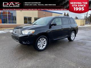 Used 2010 Toyota Highlander HYBRID AWD LEATHER/REAR CAMERA/7 PASSENGER for sale in North York, ON