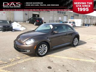 Used 2014 Volkswagen Beetle Coupe TDI HIGHLINE PUSH TO START/SUNROOF for sale in North York, ON