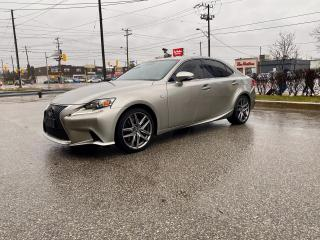 Used 2016 Lexus IS 300 F-SPORT AWD NAVIGATION/REAR VIEW CAMERA for sale in North York, ON