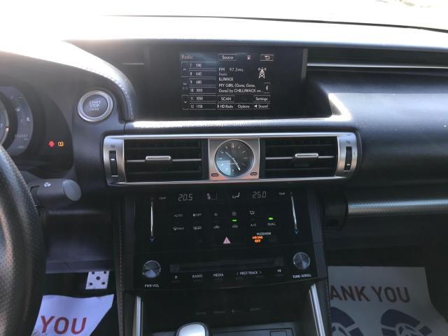 2016 Lexus IS 300 F-SPORT AWD NAVIGATION/REAR VIEW CAMERA Photo5