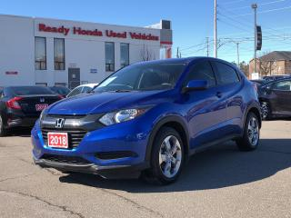 Used 2018 Honda HR-V LX  - Bluetooth - Rear camera - Heated Seats for sale in Mississauga, ON
