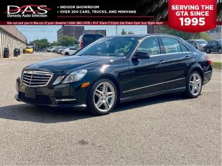 Used 2013 Mercedes-Benz E-Class E350 4MATIC NAVIGATION/PANORAMIC SUNROOF for sale in North York, ON