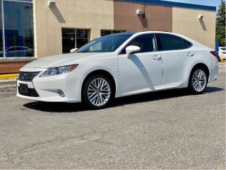 Used 2015 Lexus ES 350 ULTRA PREMIUM NAVIGATION/REAR CAMERA/PANO ROOF/65K for sale in North York, ON