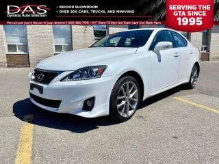 Used 2013 Lexus IS 250 AWD LEATHER/SUNROOF/86K for sale in North York, ON