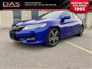 Used 2016 Honda Accord Coupe TOURING NAVIGATION/REAR VIEW CAMERA/PRE COLLISION for sale in North York, ON