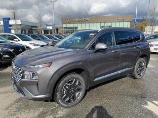 New 2021 Hyundai Santa Fe HEV Luxury for sale in Port Coquitlam, BC