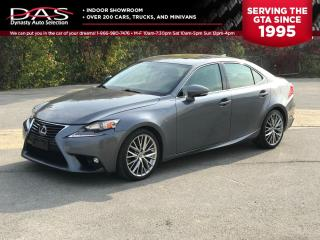 Used 2016 Lexus IS 300 AWD LEATHER/SUNROOF/PUSH TO START for sale in North York, ON