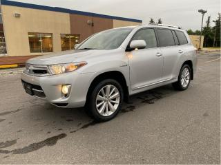 Used 2013 Toyota Highlander HYBRID LIMITED AWD NAVIGATION/REAR VIEW CAMERA/SUNROOF for sale in North York, ON