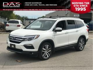 Used 2016 Honda Pilot Touring Navigation/DVD/PANORAMIC SUNROOF for sale in North York, ON