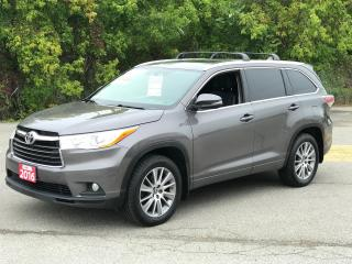 Used 2016 Toyota Highlander XLE AWD NAVIGATION/8 PASS/REAR CAMERA for sale in North York, ON