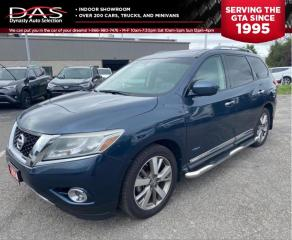 Used 2014 Nissan Pathfinder Hybrid Platinum Navigation/Pano Roof/DVD for sale in North York, ON