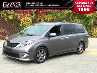 Used 2015 Toyota Sienna SE PKG REAR VIEW CAMERA/8 PASS/PWR SLIDING DOORS for sale in North York, ON