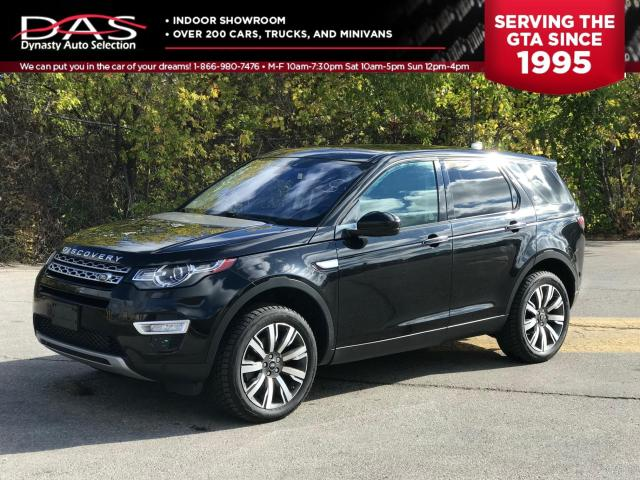 2017 Land Rover Discovery SPORT HSE LUXURY NAVIGATION/PANO ROOF/REAR VIEW CA Photo1