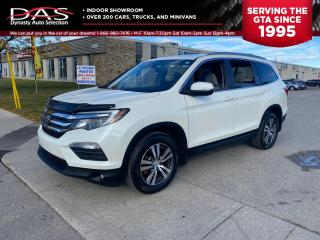 Used 2016 Honda Pilot EX-L AWD LANE DEPARTURE/PRE COLLISION/8 PASS for sale in North York, ON