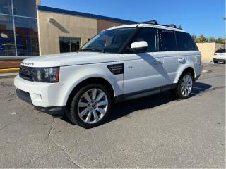 Used 2013 Land Rover Range Rover Sport HSE LUXURY 4X4 NAVIGATION/REAR VIEW CAMERA for sale in North York, ON