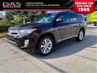 Used 2011 Toyota Highlander HYBRID LEATHER/SUNROOF/REAR CAMERA/7 PASS for sale in North York, ON