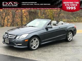 Used 2013 Mercedes-Benz E-Class E350 CONVERTIBLE NAVIGATION/REAR VIEW CAMERA for sale in North York, ON