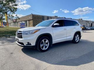 Used 2016 Toyota Highlander LIMITED AWD NAVIGATION/PANORAMIC ROOF/LEATHER for sale in North York, ON