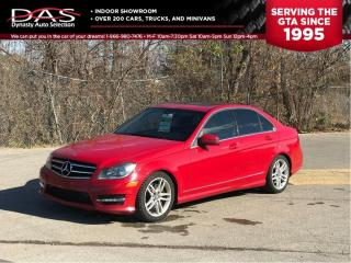 Used 2014 Mercedes-Benz C-Class C300 4MATIC LEATHER/SUNROOF for sale in North York, ON