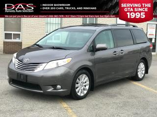 Used 2012 Toyota Sienna LIMITED NAVIGATION/REAR CVAMERA/DVD/7 PASS for sale in North York, ON
