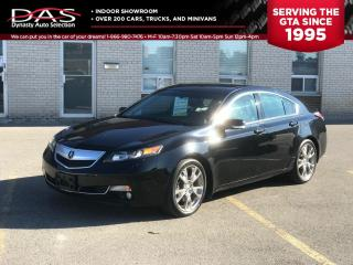 Used 2012 Acura TL ELITE PKG AWD NAVIGATION/REAR CAMERA/BLIND SPOT/ for sale in North York, ON