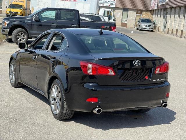 2013 Lexus IS 250 AWD LEATHER/SUNROOF/PUSH TO START Photo7