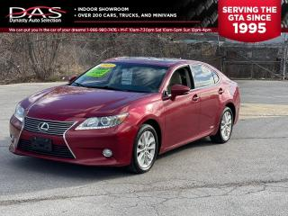 Used 2013 Lexus ES 300 h HYBRID NAVIGATION/REAR VIEW CAMERA/LEATHER/SUNROOF for sale in North York, ON