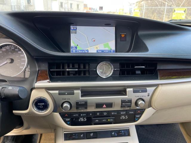 2013 Lexus ES 300 h HYBRID NAVIGATION/REAR VIEW CAMERA/LEATHER/SUNROOF Photo12