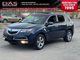Used 2012 Acura MDX TECH PKG AWD NAVIGATION/DVD/7 PASSENGER for sale in North York, ON
