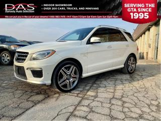Used 2013 Mercedes-Benz ML-Class ML 63 AMG NAVIGATION/PANORAMIC ROOF/LEATHER for sale in North York, ON
