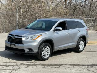 Used 2016 Toyota Highlander LE AWD 8 PASSENGER/REAR VIEW CAMERA for sale in North York, ON