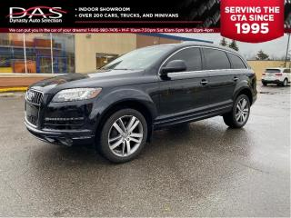 Used 2014 Audi Q7 AWD TDI  NAVIGATION/PANORAMIC ROOF/7 PASS/CAMERA for sale in North York, ON