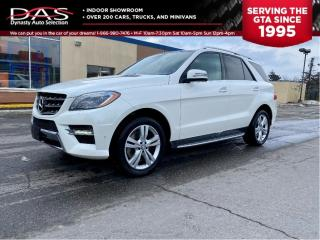 Used 2013 Mercedes-Benz ML-Class ML 350 Gas Engine Navi/Pano Roof/Camera for sale in North York, ON
