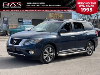 Used 2014 Nissan Pathfinder PLATIMUM 4X4 NAVGATION/360 CAMERA/BOSE/7 PASS for sale in North York, ON