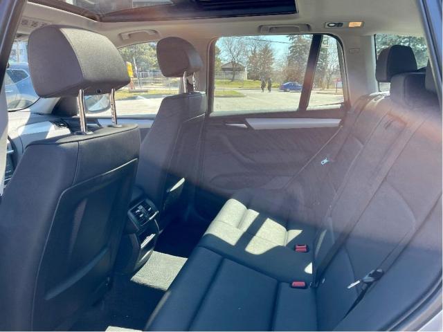 2011 BMW X3 XDRIVE28I SUNROOF/LEATHER/HEATED SEATS Photo11