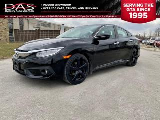 Used 2017 Honda Civic Sedan TOURING NAVIGATION/REAR CAMERA/LEATHER/SUNROOF for sale in North York, ON