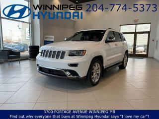 Used 2016 Jeep Grand Cherokee Summit for sale in Winnipeg, MB
