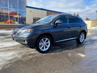 Used 2010 Lexus RX 350 PREMIUM NAVIGATION/SUNROOF/LEATHER for sale in North York, ON