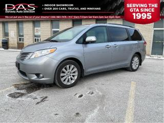 Used 2013 Toyota Sienna LIMITED  AWD NAVIGATION/DVD/PANO ROOF/LEATHER for sale in North York, ON