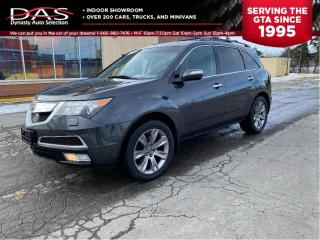 Used 2013 Acura MDX Elite Pkg Navigation/DVD/Sunroof/7 Pass for sale in North York, ON