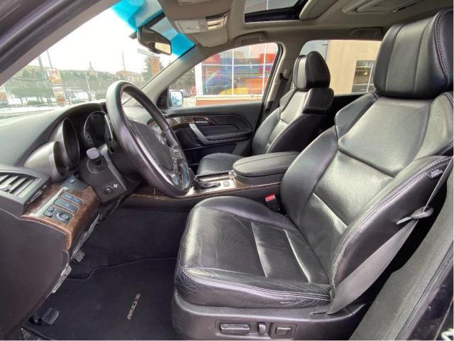 2013 Acura MDX Elite Pkg Navigation/DVD/Sunroof/7 Pass Photo10