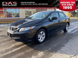 Used 2015 Honda Civic Sedan LX HEATED SEATS REAR VIEW CAMERA/MANUAL TRANS for sale in North York, ON