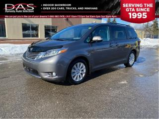 Used 2015 Toyota Sienna Limited Navigation/Pano Roof/DVD/Leather for sale in North York, ON