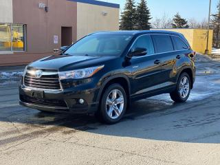 Used 2014 Toyota Highlander HYBRID Limited Navigation/Panoramic Sunroof/7Pass for sale in North York, ON