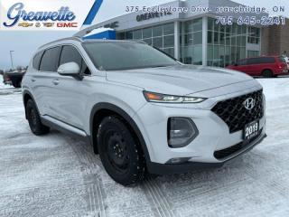 Used 2019 Hyundai Santa Fe 2.0T Luxury AWD  TWO SETS OF TIRES for sale in Bracebridge, ON