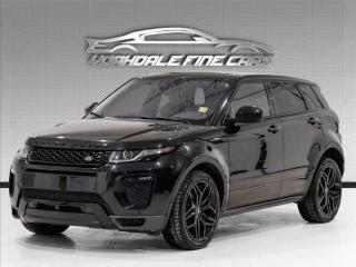Used 2018 Land Rover Evoque Dynamic Navigation, Camera, Black Package, Panoramic for sale in Concord, ON