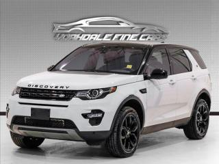 Used 2017 Land Rover Discovery Sport AWD HSE LUXURY Navigation, Camera, Blind Spot, Panoramic for sale in Concord, ON