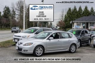 Used 2007 Mazda MAZDA3 5-Door Sport, Alloy Wheels, Air Conditioning, CD Stacker for sale in Surrey, BC